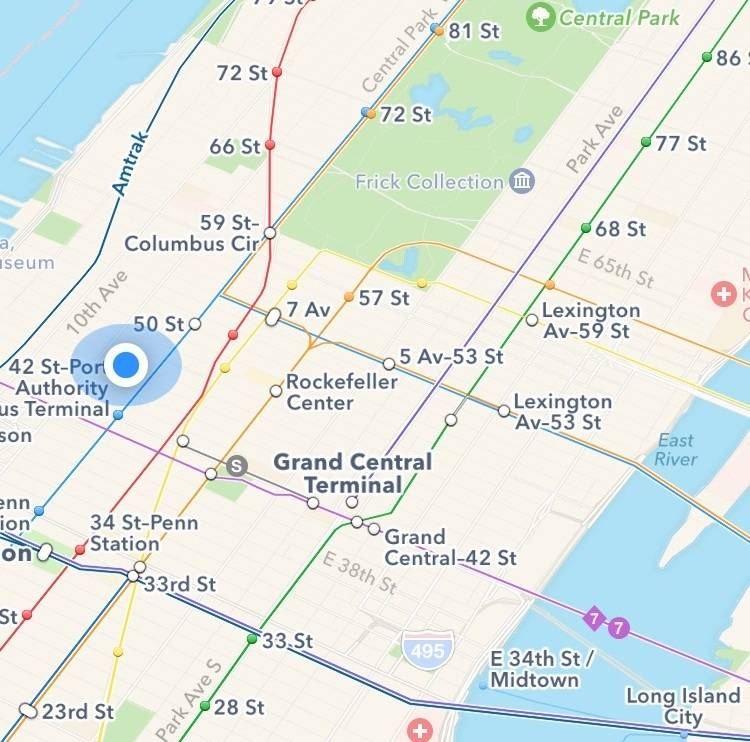 Vasuli House, Sober House and Recovery House NYC Location Map